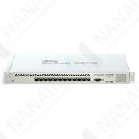 Изображение Маршрутизатор MikroTik Cloud Core Router CCR1016-12G