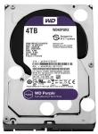 Жесткий диск 4TB WD Purple WD40PURX Serial ATA III, 5400- rpm, 64Mb, 3.5