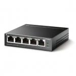 Коммутатор TP-Link TL-SF1005LP 5x1000Mb 4PoE 41W неуправляемый