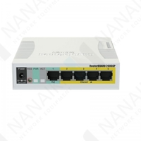 Изображение Коммутатор MikroTik Cloud Smart Switch 106-1G-4P-1S (RB260GSP)