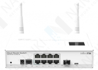 Изображение Коммутатор MikroTik Cloud Router Switch CRS109-8G-1S-2HnD-IN