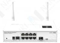 Изображение Коммутатор MikroTik Cloud Router Switch CRS109-8G-1S-2HnD-IN