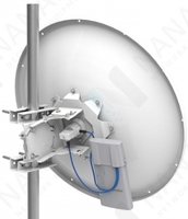 Изображение Антенна MikroTik 30dBi 5Ghz Parabolic Dish (MTAD-5G-30D3-PA)