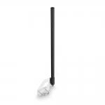 Всенаправленная Wi-Fi антенна 2300-2700 мГц (10 дБ, черная)