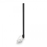 Всенаправленная Wi-Fi антенна 2300-2700 мГц (10 дБ, черная) с разъемом N-type Female
