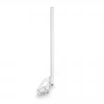 Всенаправленная (круговая) 10 дБ 4G/Wi-Fi антенна KC10-2300/2700 Белая с разъемом F-female