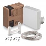 Комплект усиления сигнала для 3G/4G/LTE модема (15 дБ, MIMO)