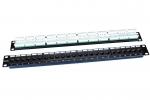 """Патч-панель Hyperline PP3-19-24-8P8C-C5E-110D 19"""", 1U, 24 порта RJ-45, категория 5e, Dual IDC"""