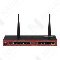 Изображение Маршрутизатор MikroTik RouterBoard RB2011UiAS-2HnD-IN